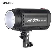 Andoer MD-300 300WS GN58 Studio Photo Strobe Flash with 50W Modeling Lamp P5G5