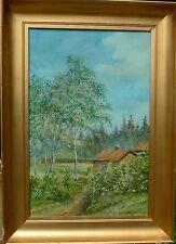 WindowsPE. Viktor montagne villaggio 1871-1927 idilliaca ESTATE PAESAGGIO/DIPINTI