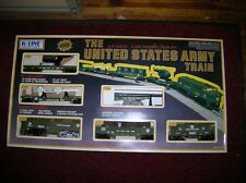 K-LINE #1911  U.S.ARMY TRAIN SET NEW BOXED , LOT # 15504