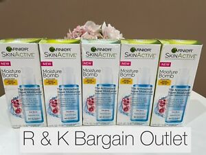 5 Garnier SkinActive Moisture Bomb The Antioxidant Super Moisturizer 2.5oz 11/18