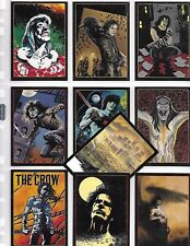 THE CROW CITY OF ANGELS  LEGEND OF THE CROW CARDS  SINGLES OR SET CHOOSE