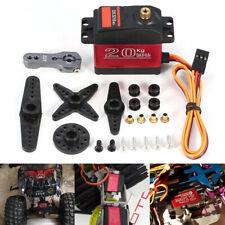 US Waterproof DS3218MG 20kg Metal Gear Digital Steering Servo For RC Car Robot