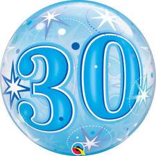 Ballons de fête ballons bubbles anniversaires-enfants en forme chiffre pour la maison