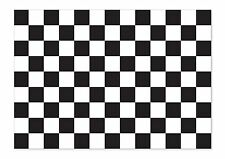 A4 Bandiera a scacchi racing Vinile Auto Furgone iPad Laptop Adesivo