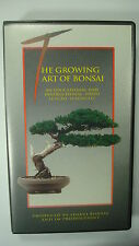 The Growing Art of Bonsai VHS 1994 Educational Instructional Oriental Art Tree