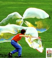 Bubble Thing BIG BUBBLES Wand and Mix - MAKES 2.7 GALLONS! - Bubbles Biggest,