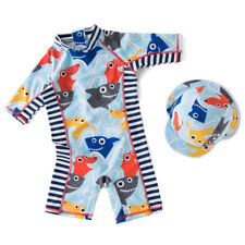 Kids Boys Swimsuit UV 50+ Sun safe Bathing Surf Swimming Costume 2pcs