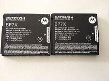 2 Pieces: OEM Motorola BP7X XT603 Admiral i1X Titanium Sprint MB612 Battery Lot