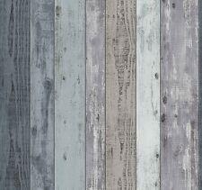 Vliestapete Holz Optik Bretter Planke Vintage blau grau PS 02361-10 (2,04€/1qm)