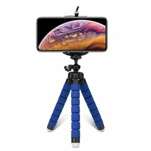 Small Flexible Octopus Tripod Universal Mini Bluetooth Remote iPhone Stand Mount