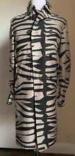 New $2595 Burberry Prorsum Mens Trench Coat Coat Gray/Black 42 US ( 52 Eu ) Ita