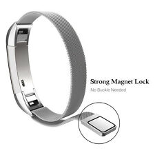 【Für Fitbit Alta HR】Qualität Magnetschlaufe Edelstahl Smart Uhrenarmband 12mm