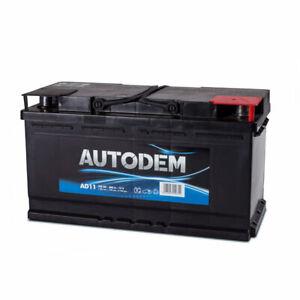 Batterie tourisme Autodem Autodem AD11 100Ah 780A