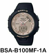 Authentic Original Casio Baby G BSA-B100MF-1A Watch