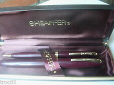 PARURE STYLOS SHEAFFER PLUME & MINE ANCIEN COLLECTION
