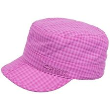 OR Outdoor Research Military Inspired Radar Pocket Hat Cap - UPF 30 Crocus Check