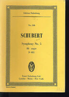 Schubert : Symphony No. 5 B-Dur D 485 ~ Studienpartitur