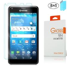 [3-Pack] For Kyocera Hydro Reach C6743 HD Tempered Glass Screen Saver Protector