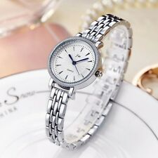 Rose Gold Stainless Steel Round Face Shiny Dress Casual Women's Quartz Watches