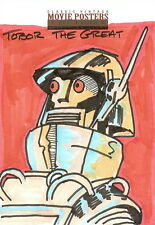 Sci-Fi Horror Movie Posters 2 Sketch Card from Otto Dieffenbach