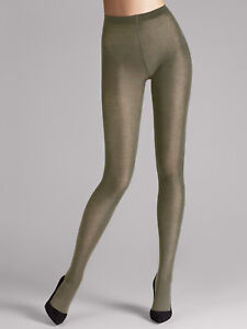 RRP €50 WOLFORD Merino Wool 200 DEN Tights Size M Moisture Absorption AW 2020/21