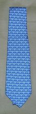 NWT Boy's Vineyard Vines Menorah Printed Tie  Color Sea Splash  $49