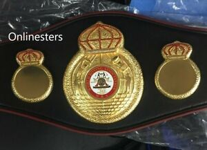 WBA WORLD Boxing Champion Ship Replica Belt Adult size Replica-LTD TIME OFER