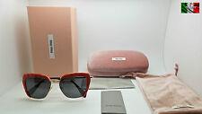 MIU MIU NOIR SMU52Q colore USX5S0 occhiale da sole da donna TOP ICON OTT16