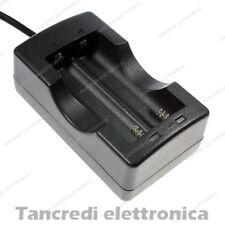 Carica batteria 18650 3,7V Litio Li-Ion Caricatore Svapo E-cig Battery Charger