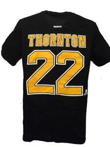 New Boston Bruins #22 Shawn Thornton Youth Sizes M-L-XL Reebok Shirt