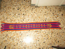 echarpe scarf football ancienne old  FC BARCELONE BARCELONA  VISCA EL BARCA