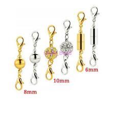 12 Pcs Magnetic Clasps Hooks Bracelet Necklace Connectors For DIY Jewelry Making