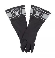 NFL Oakland Raiders Rubber Dish /Garden Long Gloves