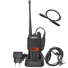 Portable VHF/UHF Retevis RT6  IP67 1800mA Radio CTCSS&DCS FM 128CH +USB