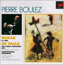 MANUEL DE FALLA: SOMBRERO DE TRES PICOS; PAUL DUKAS: LA P'RI NEW CD