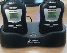 Cobra Micro Talk FRS 110 Dual Walkie Talkie With Charging Cradle