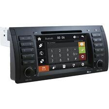 AUTORADIO Touch BMW E39 E53 Navigatore Gps Comandi Volante Mp3 Bluetooth