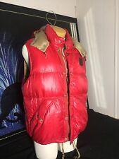 Polo Ralph Lauren Men's Red Goose Down Vest Size Large