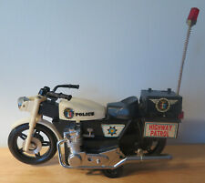 Vintage California Highway Patrol Motorcycle toy Police Taiwan
