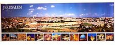 Jerusalem View large poster - 39 x 14 inches, New, Free Shipping