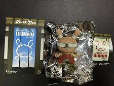 KIDROBOT - DUNNY GOLD LIFE Series - Very Serious Samurai Red 1/16 by Huck Gee