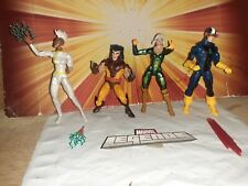 MARVEL LEGENDS X-MEN CUSTOM 4 FIGURE LOT