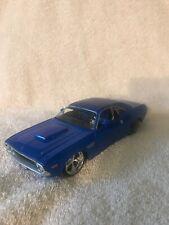 Maisto PRO RODZ 1:24 1970 BLUE Dodge Challenger R/T VHTF!