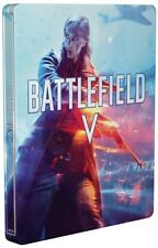 Battlefield V 5 Steelbook Metal Case PS4 & Xbox One * NEW SEALED * NO GAME