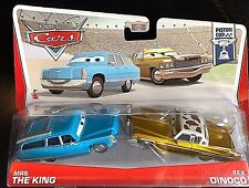 DISNEY PIXAR CARS MODELLINI: MRS.THE KING & TEX DINOCO