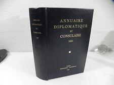 ANNUAIRE DIPLOMATIQUE ET CONSULAIRE de la republique Française 1995