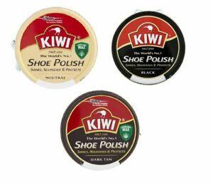 Kiwi Shoe Polish 50ml Boot Shiner Nourishes Protector