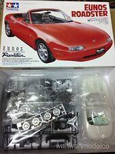 Tamiya 24085 1/24 Scale Model Sport Car Kit Mazda MX-5 Miata Eunos Roadster