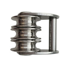 Premium 316 Stainless Steel Sail Tack Triple Pulley for Windsurfing Sails