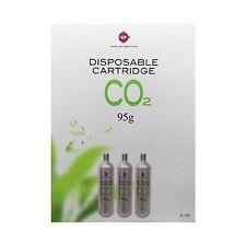Aquarium Aquatic Plants Fish Tank UP AQUA CO2 Disposable Cartridge 95g x 3